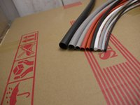 Wholesale 20 mm Flexible Soft Silicone Heat Shrink Tubing Black Meter