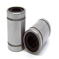 Wholesale 2pcs Long type LM8LUU mm Long Linear Ball Bearing for RepRap D printer Bush Bushing Replacement Carbon Chromium CNC Parts