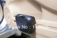 Wholesale Car Trash Rubbish Can Garbage Dust Holder Box Clean Comfortable Multi Function