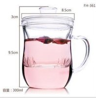 acrylic tumbler set - new real fda hot sell flower tea cup chinese set acrylic double wall tumbler pot flower teaset heatresisting cup glass