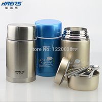 Wholesale lunchbox Roast stew pot stainless steel thermal pot burn pot stew pot beaker ml boxes