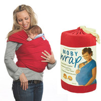baby gear brands - 10 Colors Brand New Moby Wrap NewBorn Baby and Infant Carrier Sling Comfort Baby Safety Gear G168