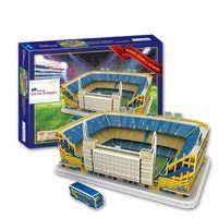 Wholesale 3D Puzzle Stadium Model Estadio Alberto J Armando Boca Juniors Football Club Home Football Pitch Paper Model Toys Decoration