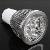 Wholesale High Power CREE Led Lamp W W W Dimmable GU10 MR16 E27 E14 GU5 B22 Led spot Light Spotlight lighting