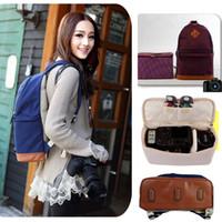 Wholesale DSLR SLR Camcorder Professional Women Camera Backpack Handbag Shoulder Bag