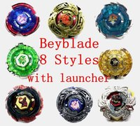 Wholesale 2016 new hot sell Rapidity Beyblade Metal Fusion with Launcher models toy for kids