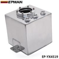 Wholesale EPMAN high performance L Aluminium Surge Swirl Pot Tank Assembly In Sliver car racing parts EP YX4519