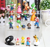 The Valentine Day android figures - PVC Super Mario Bros yoshi Figure dinosaur android watch toys Figure cos style mixed
