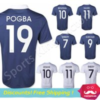 france - France Jerseys World Cup France Soccer Jerseys France ZIDANE GIROUD BENZEMA POGBA Shirt