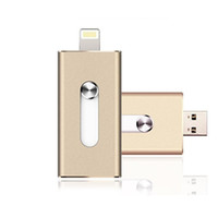 Wholesale i Flash Drive Card Reader Micro USB Adapter For iOS iPhone s c Plus ipad Pendrive