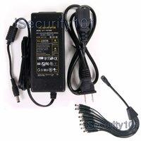 ac adaptor cable - New AC V to DC V A Power Supply Port Split Adaptor Plug Cable