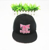 "Cheap 2015 Hot ""FUCK THE SYSTEM"" Letter hat ,Ms outdoor hot dance hip-hop cap tide people men and women Flat along the leopard baseball hat"