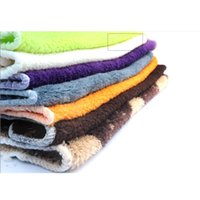 Wholesale Multiple Colors Soft High Quality Banboom Fiber Absorbent Anti greasy Dish Wash Towel Cleaning Cloth Kitchen Helper