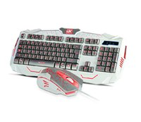 Wholesale gaming Keyboard Mouse Combos mechanical keyboard Ergonomic mouse Cheap keyboard mouse Computers Networking Fedex