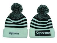 basketball wear - 2015 New Supreme Hip Hop Beanies Street Wear Dancing Hats Hip Hop Knitted Hats LS