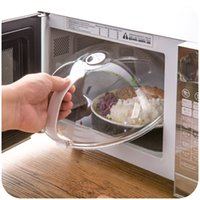 air oven - High Quality Rotary Air Hole Transparent Lid Microwave Oven Oil proof Cover Can be Hung Fresh Cover