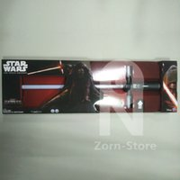 Zorn-Star Wars Lightsaber Exclusive La Force réveille Kylo Ren ultime FX LED Croix Sabre laser électronique Toy rouge / Sound (version européenne)