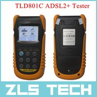 best multi meter - New Multi functional TLD801C ADSL Tester ADSL2 Tester DMM PING Test Meter Best Power Meters Tool