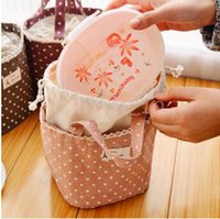 Wholesale 300pcs CCA3221 High Quality Fresh Lunch Container Bag Picnic Pouch Handbags Thermal Insulated Cooler Bag Lunch Box Tote Portable Lunch Bag