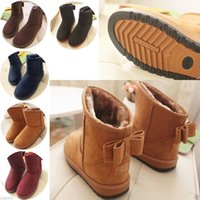 Ankle Boots womens snow boots - Fashion Womens Cute Bowknot Winter Warm Snow Boots Shoes women boots CGB boots shoes