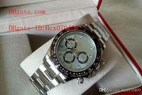 ice box - Top Quality Mens Wristwatch Cosmograph Day tona Platinum Ice Bleu Baguette Diam Ceramic Automatic Men s Watches Original Box Papers