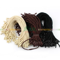Wholesale 1000pcs String Loop Lock with button Cord Fastener and Plastic Bullet Head Snap Lock to Seal for Hang Tag Tag seal