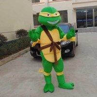 Maison d'enfants Teenage Mutant Ninja Turtles costume de Mascotte de Costumes de Personnage de dessin animé Robe de soirée Taille Adulte