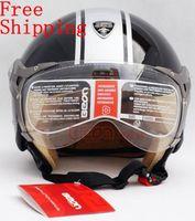 avenue free shipping - BEON vintage motocyle helmet halley helmet fifth avenue design