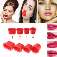 Wholesale Sexy Fuller Lips Enhancer Bigger Beauty Tool Small Medium Oval Large Round Luscious Lips Pump Plumping Device Fulllips