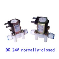Wholesale DC V Electric Solenoid Valve N C Water Inlet Flow Switch Normally Closed for water purifier system