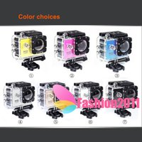 action car sales - Hot sales SJ4000 A9 Action Camera sports DV Mini Camcorders Full HD P inch Car DVR H M Underwater M Video Camera C