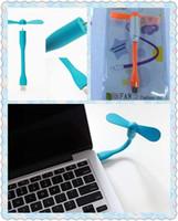 Wholesale 2015 New Original Xiaomi USB Fan Flexible USB Portable Mini Fan For Power Bank Notebook Laptop Computer Power saving
