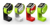 Wholesale New coming For apple watch magnetic charge dock charge stander holder For apple watch E7 stand for apple watch DHL free fast shipping band