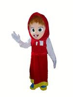 Wholesale 2015 masha and the bear mascot costumes