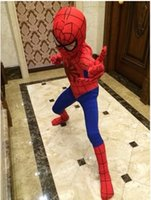 children apparel - Adult Halloween costumes for men spiderman cosplay kids anime costume for children new apparel Theme costume
