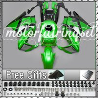Wholesale ABS Fairing Kit Fit CBR600 F2 CBR Green Black N17