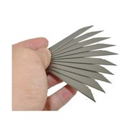 Wholesale 30 Degree Angle mm Cutter Utility Knife Blades Hight Carbon SK Cases Cutting Knives Snap off Blade Boxes A44S