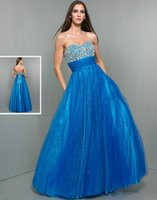 Reference Images A-Line Sweetheart 2015 A Line Crystals Beading WOW Prom Dresses 6001 Sequins Tulle Pleats Sash Floor Length Lace Up Backless Winter Formal Cheap Evening Gowns