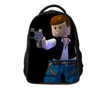 backpacks bulk - bulk Star wars backpack children cartoon schoolbag doubles shoulder bag small backpack travel backpack kids gift Z M961