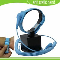 Wholesale Freeshipping new arrival Discharge ESD wrist strap antistatic wrist band esd wrist band anti static bands For Electrician IC PLCC worker
