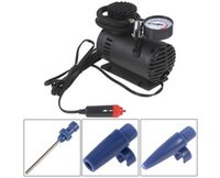 Wholesale Portable V W PSI Electric Car Tire Inflator Pump Auto Car Pump with Pneumatic Nozzle