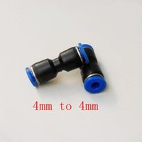 Wholesale 20pcs Pneumatic Air Fitting mm to mm Union Straight Connector PU4