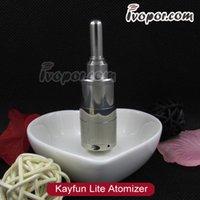 kayfun ss cigarrillo electrónico Lite Clearomizer con el alimentador inferior de control de flujo de aire 510 hilo envío libre