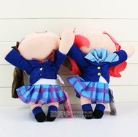 anime love movies - Anime LoveLive Plush Toys Love Live School Idol Project Kotori Minami Maki Nishikino Figures Lying Posture Plush Doll Toys EMS