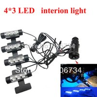 Wholesale Hot Selling V Car Charge x LED Glow Interior Decorative Atmosphere Neon Light