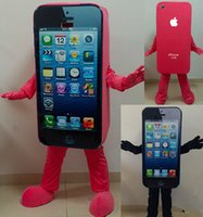 athletic express - High Quality EVA Material Iphone Mascot Costume Adult size Express Advertising Phone Mobile Store SALE high quality Apple Phone