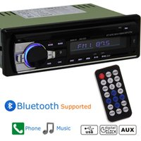 Wholesale Bluetooth Car Audio In Dash Fm Receiver Mp3 Player USB SD MMC Input AUX Receiver
