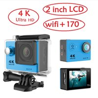Wholesale Original EKEN K Ultra HD action camera WiFi H9 sport Camcorder degree inch screen meters waterproof DV Diving dvr