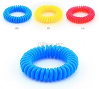 Wholesale Mosquito Repellent Spring Bracelets Anti Mosquito Pure Natural Baby Wristband Hand Ring