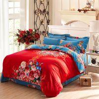 Cheap Pacific home bedding density133x70 100% cotton sanding version of flowers brand bedding set